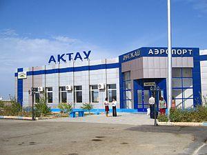 Aktau Airport - Image: Aktau Airport