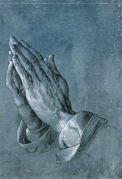 File:Albrecht Dürer - Study of an Apostle's Hands (Praying Hands) - WGA07062.jpg