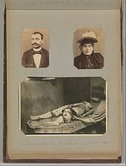 Album of Paris Crime Scenes - Attributed to Alphonse Bertillon. DP263812.jpg