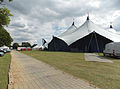 Aldenham Country Park event field with Kayam 'Valhalla' tent and temporary road.jpg