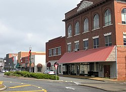 The Alexander City Commercial Historic District was added to the National Register of Historic Places on June 22, 2000.