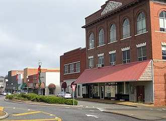 Alexander City, Alabama - The Alexander City Commercial Historic District was added to the National Register of Historic Places on June 22, 2000.