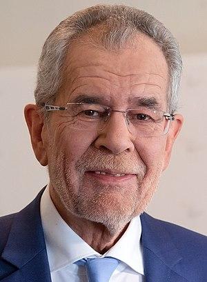 Austrian presidential election, 2016 - Image: Alexander Van der Bellen 2016 cropped