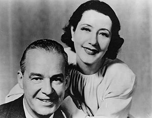 Alfred Lunt - Lunt and Fontanne in 1950.