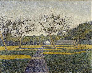 Orchard at La Louvière