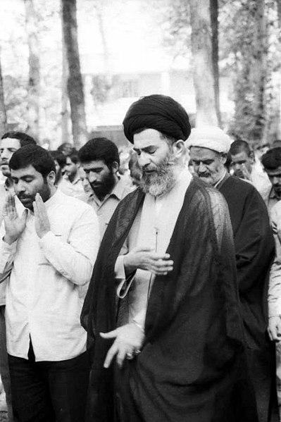 File:Ali Khamenei leading a Jumu'ah of Tehran - 1981.jpg