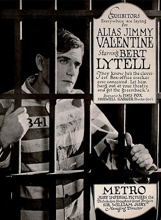 Alias Jimmy Valentine (1920 film) - ad for film