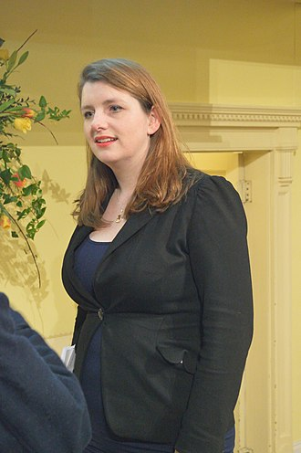 Alison McGovern - McGovern after a Radio 4 Any Questions? programme in 2016