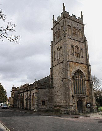 Langport - All Saints' church
