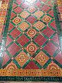 All Saints Church, Middle Claydon, Bucks, England - chancel floor tiles.jpg