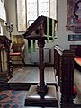 All Saints Church, Middle Claydon, Bucks, England - lectern.jpg