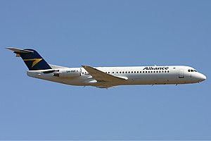 Alliance Airlines Fokker 100 Bundaberg Vabre.jpg
