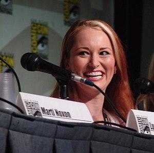English: Allison DuBois in Comic-Con.