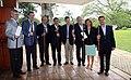 Almuerzo de los Presidentes de los países miembros y observadores (8808609688).jpg