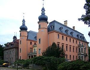 Altdöbern - Image: Altdöbern Schloss Rückseite