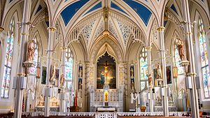 St. Mary Basilica, Natchez - Interior