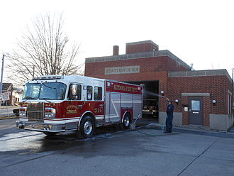Altoona, Pennsylvania - Altoona Fire Department Station 4 and Engine 314