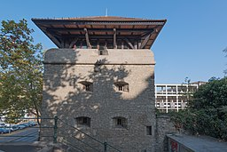 Am Pleidenturm in Würzburg
