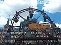 Ambiente mágico y surrealista en La Plaza Mayor, convertida en feria del pasado 02.jpg