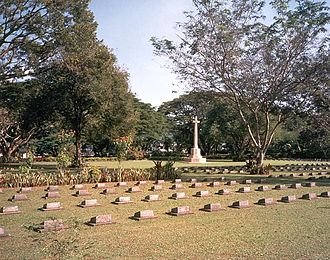 Battle of Ambon - Ambon War Cemetery currently holds the graves of 1,956 servicemen, mostly Australian, Dutch and British.
