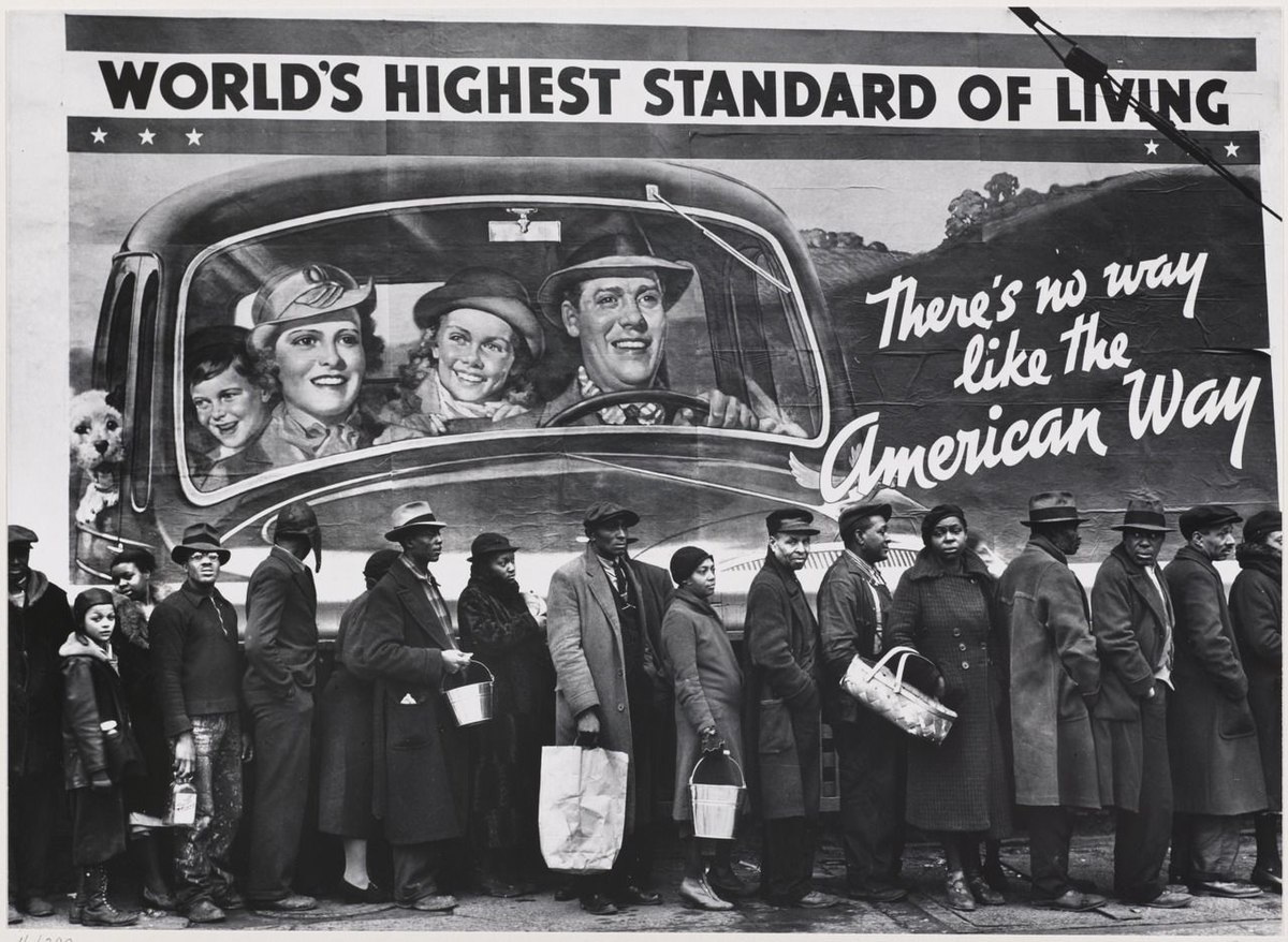 Louisville bread line 1937