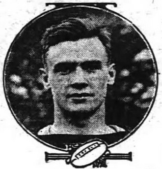 1912 College Football All-Southern Team - Ammie Sikes.