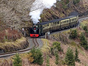An afternoon train to Devils Bridge (geograph 5730422).jpg