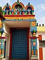 An entrance door, Nagaraja temple, Nagercoil, Tamil Nadu India - 9.jpg