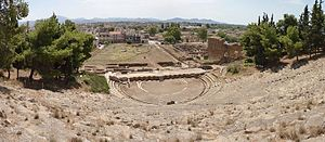 Argos - View of the ancient theatre