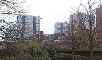 Anderston - Anderston Centre (now known as Cadogan Square), built at the turn of the 1970s, was the flagship development of the regenerated Anderston, but would ultimately prove controversial.