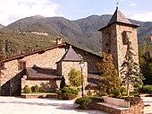 Casa de la Vall, sede del Parlamento di Andorra