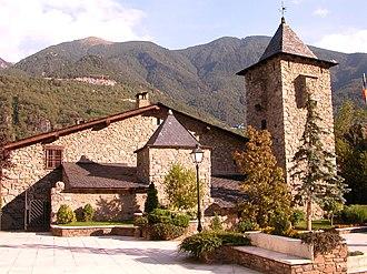 Politics of Andorra - Casa de la Vall, historical parliament of Andorra