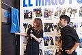 Andrea Levy descubre una placa que homenajea a Antonio Díaz, El Mago Pop, como el mago europeo más taquillero del mundo 05.jpg