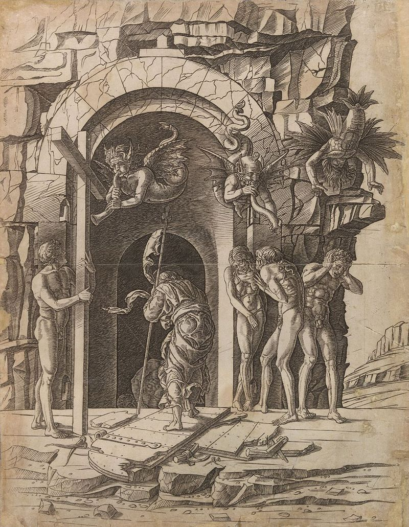 Ca s'est passé en septembre ! 800px-Andrea_Mantegna_-_Jesus_Cristo_descendo_ao_limbo