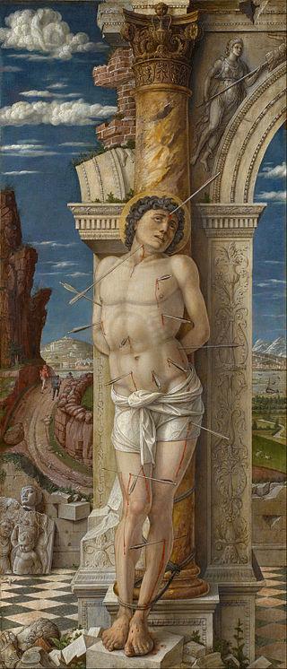 Andrea Mantegna - St. Sebastian - Google Art Project.jpg