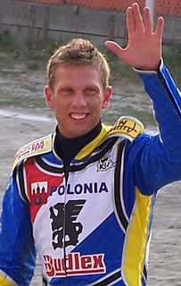 Andreas Jonsson Swedish motorcycle racer