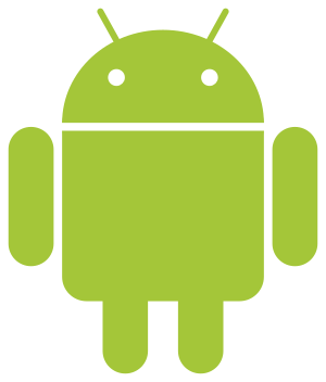 English: Android Robot. Français : le logo d'a...