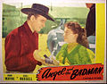 Angel and the Badman lobby card.JPG