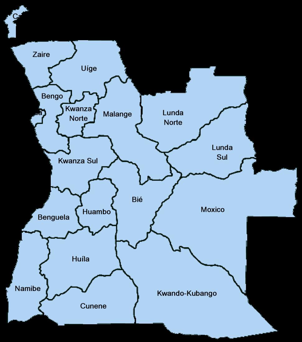 Angola Provincias