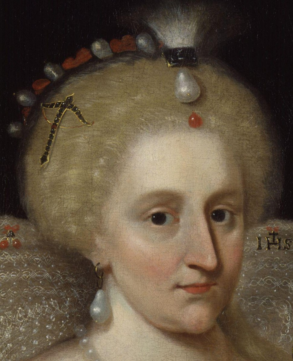 Anne of Denmark by Paul Van Somer cropped