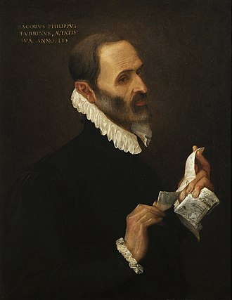 Annibale Carracci - Portrait of Giacomo Filippo Turrini