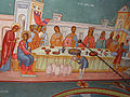 Annunciation Cathedral (Jerusalem) Fresco of Marriage at Cana.jpg