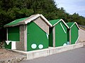 Another view of the Crazy Golf Beach Huts in Folkestone - geograph.org.uk - 2473468.jpg