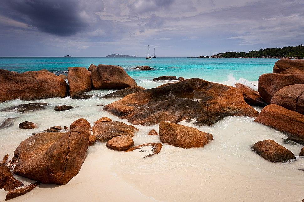 Anse Lazio beach Praslin Seychelles