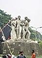 Anti Terrorism Raju Memorial Sculpture in Dhaka 01.jpg