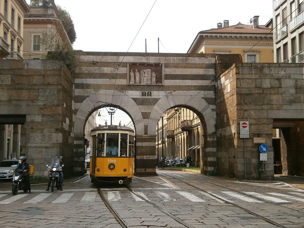 Porta nuova medievale milano wikipedia - Via porta nuova milano ...