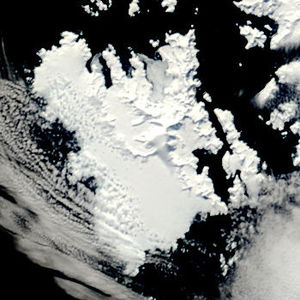 Anvers Island - NASA image of Anvers Island