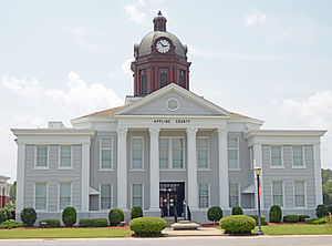 Appling County, Georgia - Image: Appling County Courthouse, Baxley, GA, US