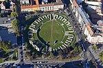 Aquincum katonai (katonavárosi) amfiteátruma - légi fotó.jpg