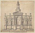 Architecturally-Shaped Tabernacle with a Saint and Four Putti MET DP825660.jpg